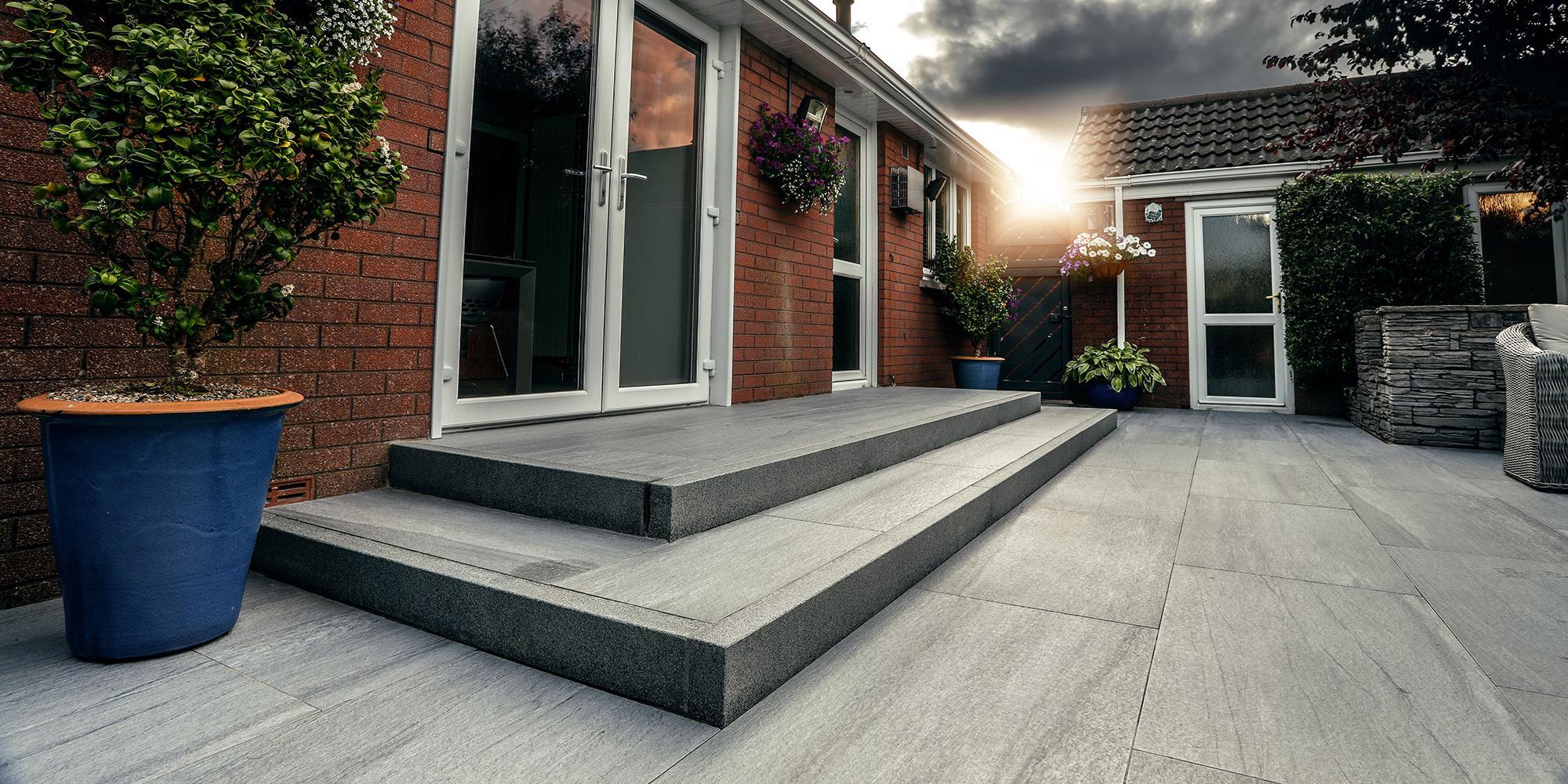 Granite paving northern ireland natural stone steps patios driveways